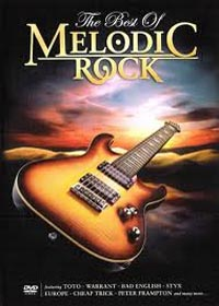 The best of melodic rock Cover