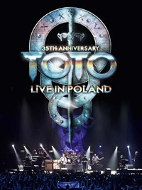 35th Anniversary Toto Live in Poland Cover