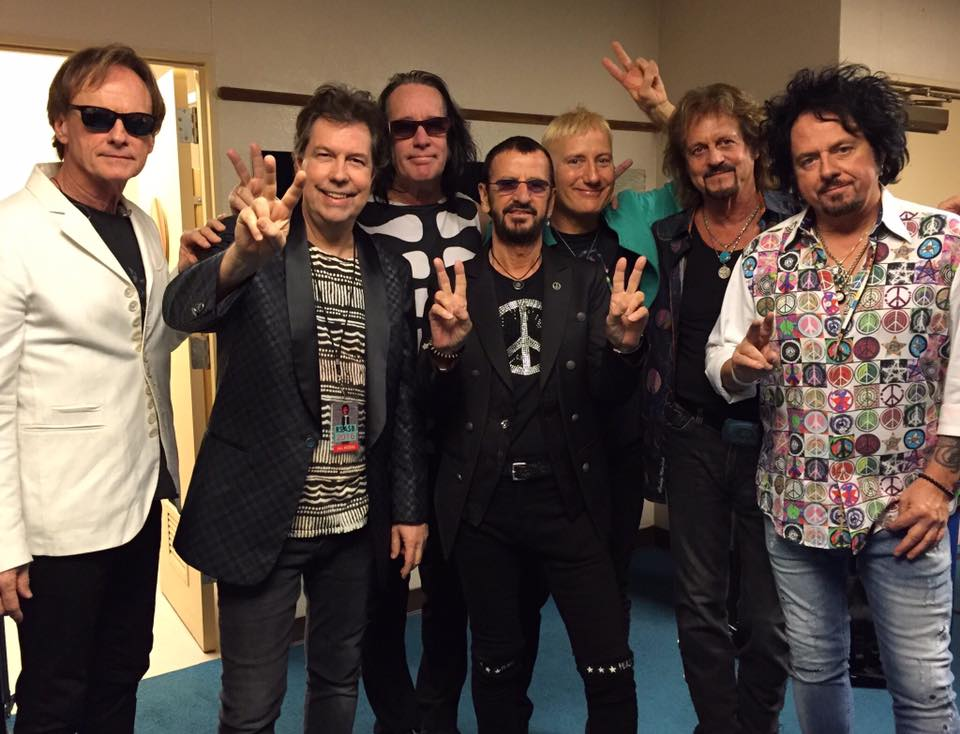 Ringo Starr And His Current Longest Running Group Of All Starrs Featuring Todd Rundgren Gregg Rolie Steve Lukather Richard Page Warren Ham