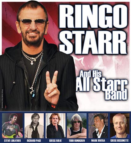 Ringo Starr & His All Starr's Band tour 2013