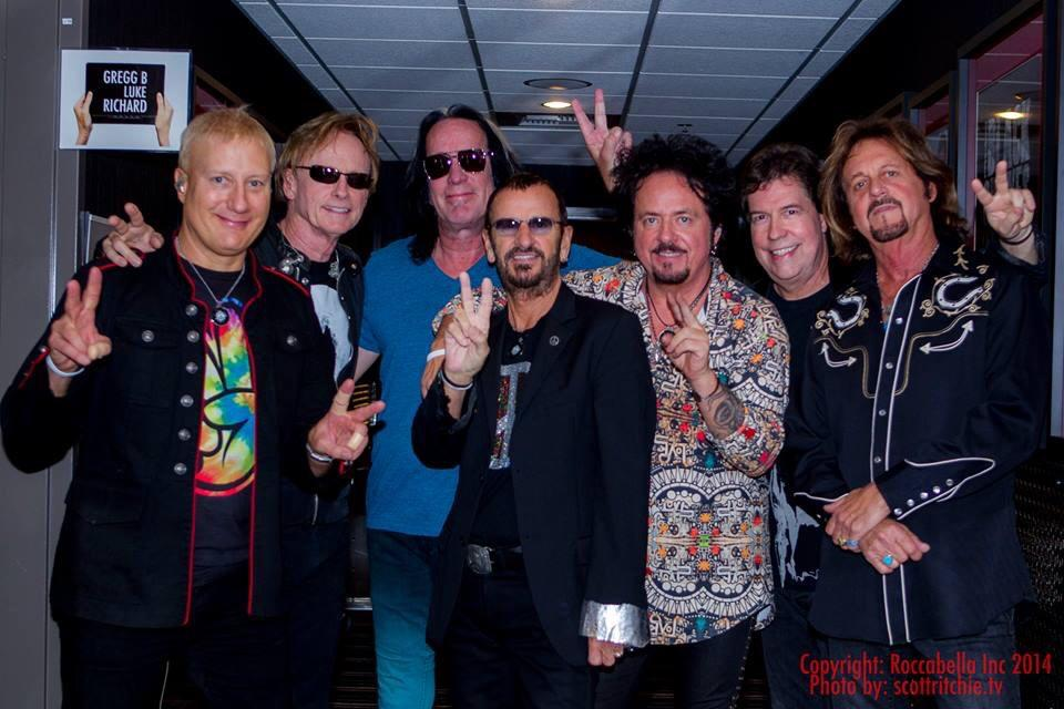 Ringo Starr His All Band 2015